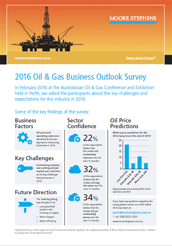 Preview image of Oil and Gas survey results