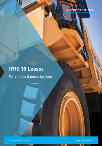 IFRS 16 Leases - What does it mean for you publication