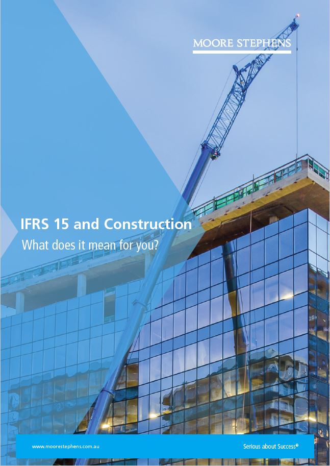 IFRS15 & Construction