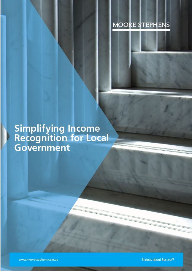 Simplifying Income for NFPs & Local Government