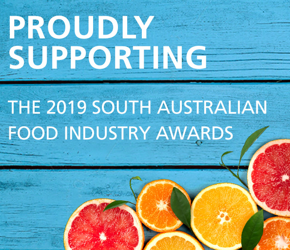 Proudly Supporting the 2019 South Australian Food Industry Awards
